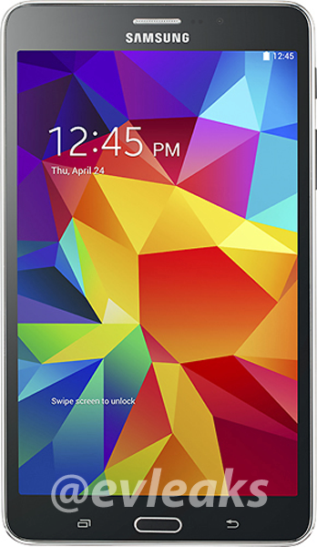 черный Samsung Galaxy Tab 4 7.0