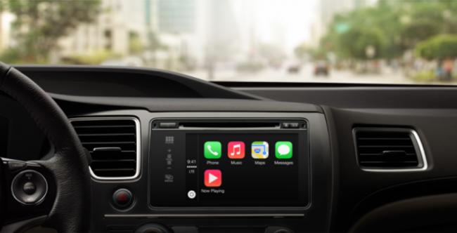 Apple официально представила автомобильную систему CarPlay