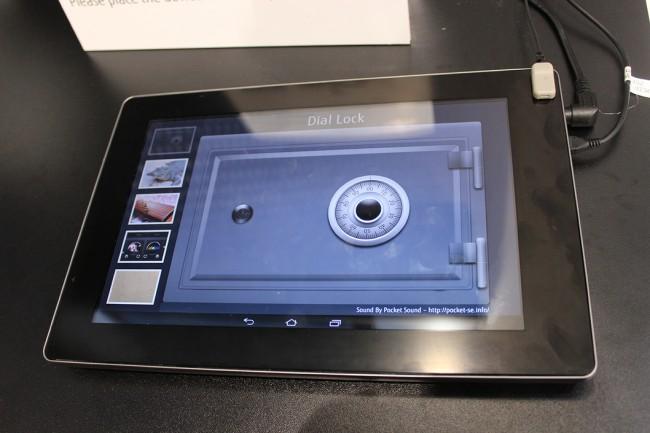 новый тачскрин Fujitsu