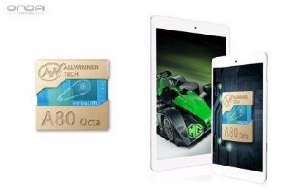 Allwinner A80 UltraOcta  на планшете Onda