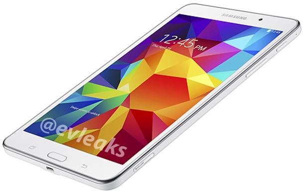 белый Samsung Galaxy Tab 4 7.0