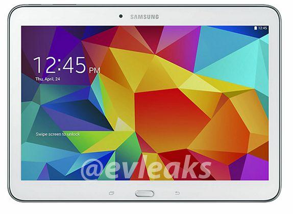 белый Samsung Galaxy Tab 4 10.1