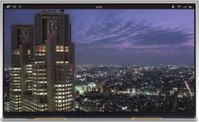10.1-дюймовый экран Japan Display