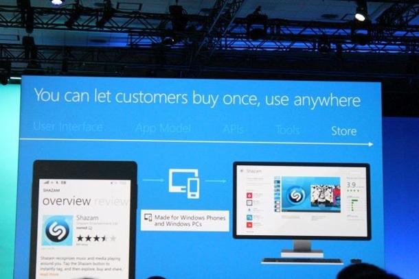 Разработчики смогут выпускать единые приложения для Windows  и Windows Phone