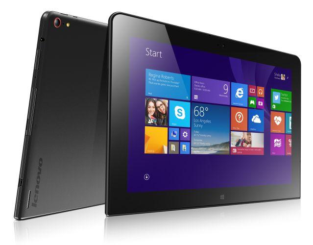 Lenovo выпустила новый планшет корпоративного класса ThinkPad 10