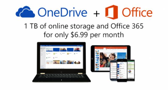 OneDrive   и Office 365