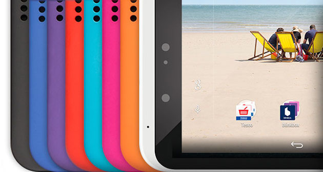 Tesco Hudl 2 Colors