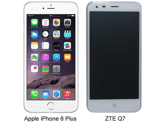 ZTE Q7 Apple IPhone 6 Plus