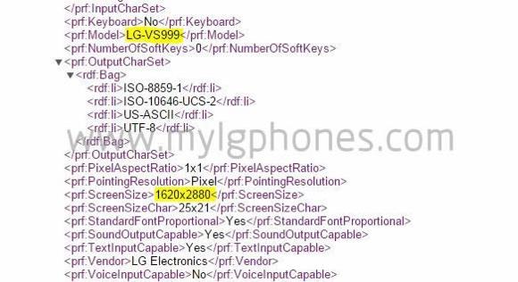 LG G4 может получить 3K-экран