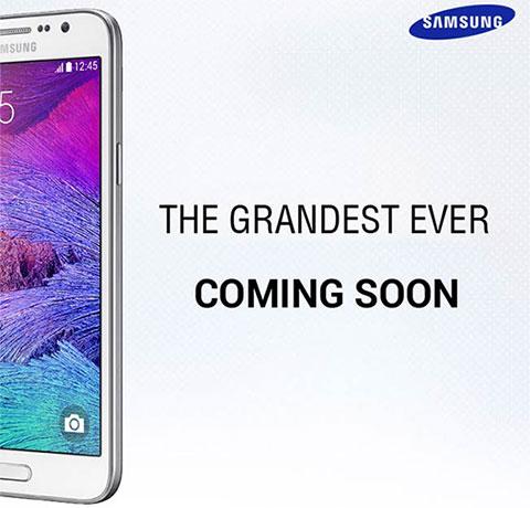 Samsung  дразнит новым Galaxy Grand 3