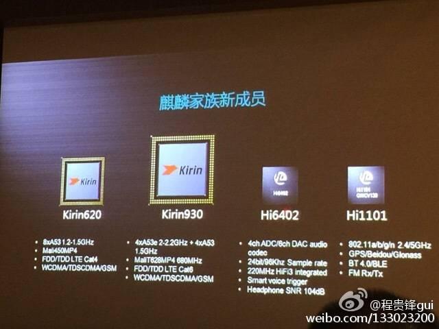 Huawei Kirin930