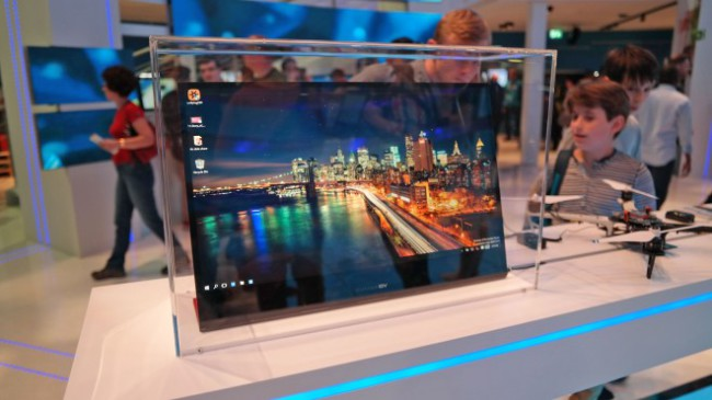 Intel 4K tablet concept