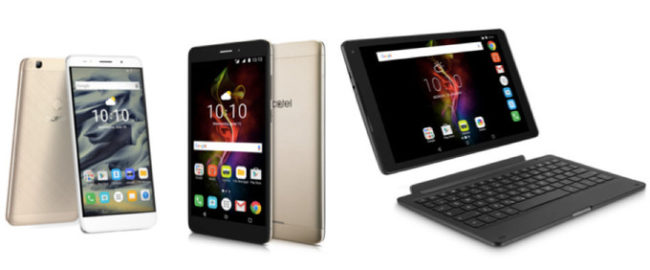Alcatel Pop 4 line-up