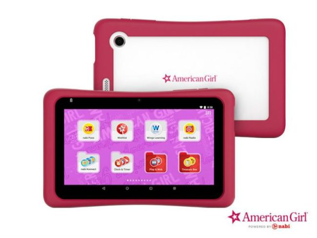 Mattel Nabi American Girl Tablet
