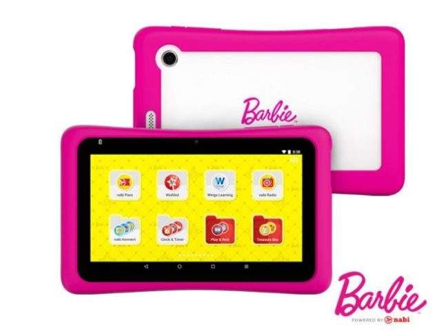 Mattel Nabi Barbie Tablet