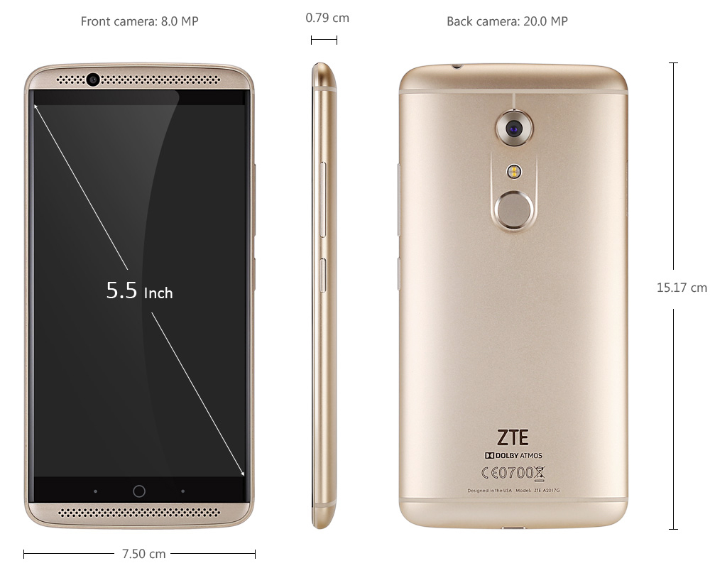traders need zte axon 7 mobile phone will